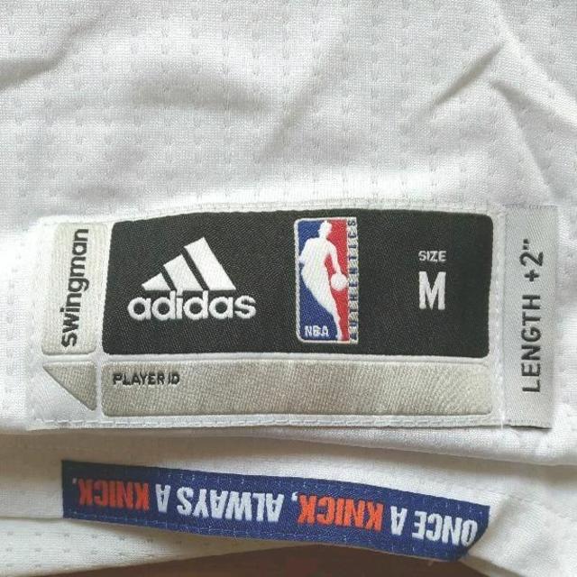 adidas(アディダス)の送料込み デリックローズ size M ニューヨークニックス ユニフォーム スポーツ/アウトドアのスポーツ/アウトドア その他(バスケットボール)の商品写真