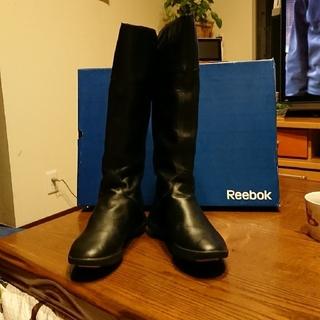 リーボック(Reebok)のReebok イージートーン 本革ロングブーツ 24(ブーツ)