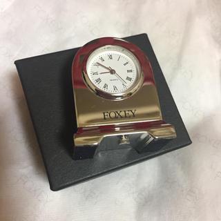 フォクシー(FOXEY)のFOXEY 置き時計(置時計)