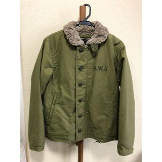 ウィズ(whiz)のA.W.A N-1ジャケット サイズ40 オリーブ Whiz Limited(ミリタリージャケット)