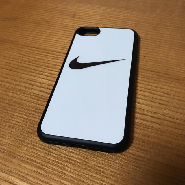 NIKE(ナイキ)のiPhone7ケース ナイキロゴのみ白 スマホ/家電/カメラの
