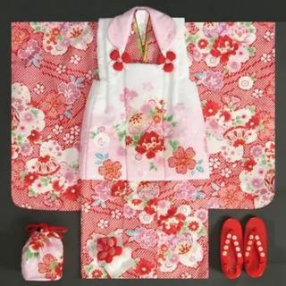 七五三 3歳 着物 正絹  専用(和服/着物)