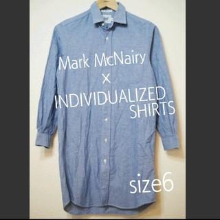 インディヴィジュアライズドシャツ(INDIVIDUALIZED SHIRTS)のロニースコッツ購入 マークマクナイリー インディビジュアライズド 6 RD(ひざ丈ワンピース)