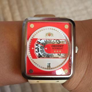 オリエント(ORIENT)のオリエント 腕時計 白(腕時計)