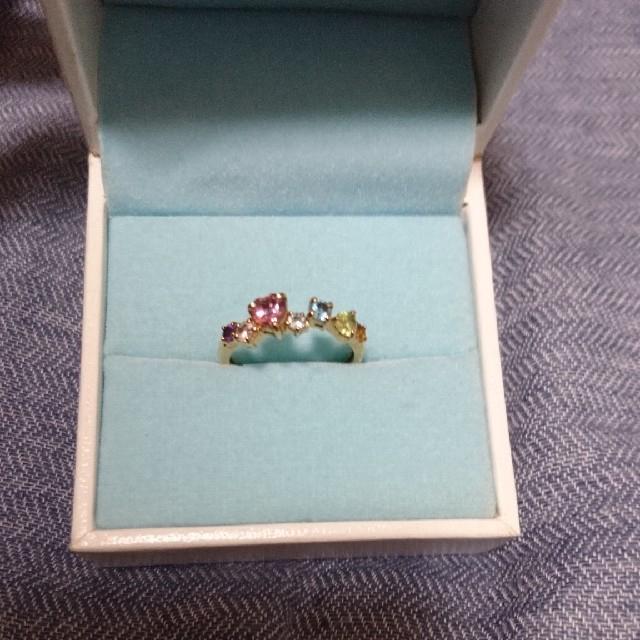 JEWELRY TSUTSUMI(ジュエリーツツミ)のK10マルチカラーリング レディースのアクセサリー(リング(指輪))の商品写真