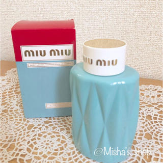 ミュウミュウ(miumiu)の【新品】miumiu ボディローション(ボディローション/ミルク)