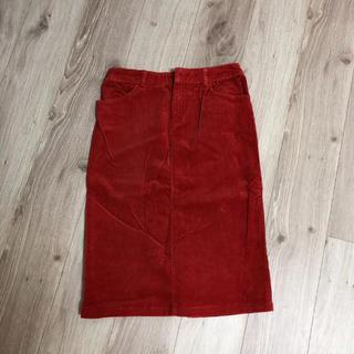 ヌール(noue-rue)のヌール  コーデュロイスカート (ひざ丈スカート)