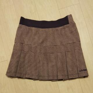 アディダス(adidas)のアディダスプリーツスカート☆Lsize(ミニスカート)