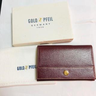 ゴールドファイル(GOLD PFEIL)のGOLD PEFIL 名刺入れ(名刺入れ/定期入れ)