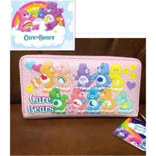長財布 care bears 新品、未使用 コインケース 財布 ピンク