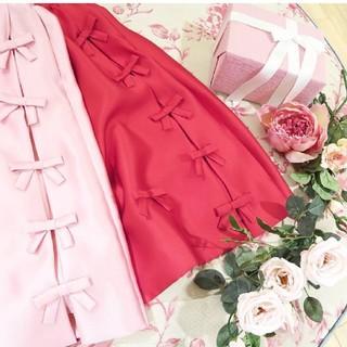 チェスティ(Chesty)のチェスティ♡リボンスカート(ひざ丈スカート)
