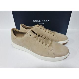 コールハーン(Cole Haan)のCOLE HAAN GRANDPRO TENNIS メンズ 10.5 ベージュ(スニーカー)