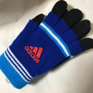 アディダス(adidas)のアディダス 2重 ジュニア 手袋(手袋)