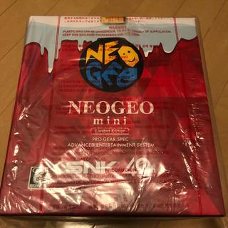 ネオジオ(NEOGEO)のネオジオ 本体 クリスマス mini(家庭用ゲーム本体)