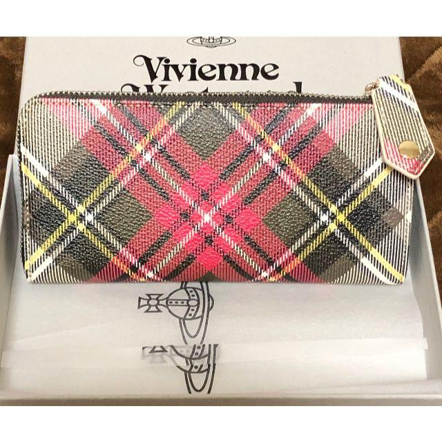 Vivienne Westwood(ヴィヴィアンウエストウッド)の【新品未使用】ヴィヴィアンウエストウッド 長財布 レディースのファッション小物(財布)の商品写真