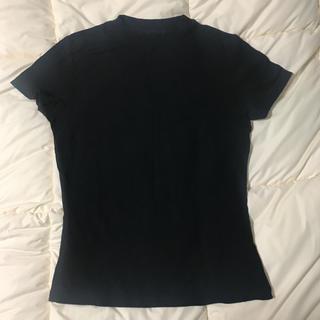 トリンプ(Triumph)のトリンプ Tシャツ ブラック M ストレッチ レーヨン カットソー  ジム(Tシャツ(半袖/袖なし))