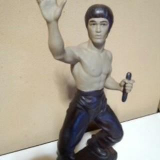 最終値下げです。ブルース・リー陶器製オブジェ フィギュア 人形(彫刻/オブジェ)