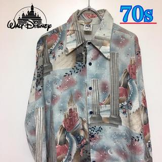 ディズニー(Disney)の70s!ミッキーミニー ヴィンテージシャツ Disney ディズニー(シャツ)