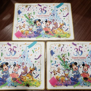 ディズニー(Disney)のディズニー クリスタルパレス ランチシート 紙(テーブル用品)
