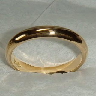 ★シンプル甲丸K18指輪(造幣局刻印)(リング(指輪))