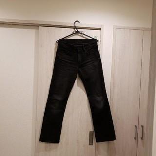ユニクロ(UNIQLO)のUNIQLO ユニクロ BLACK jeans(デニム/ジーンズ)