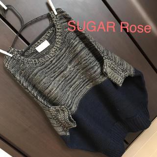SUGAR Rose スコットクラブ プルオーバーニット