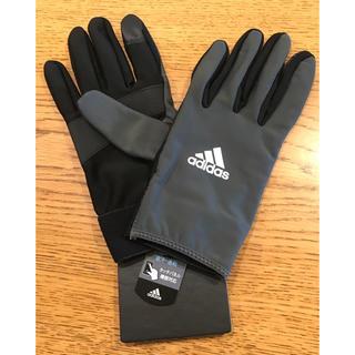 アディダス(adidas)のランニンググローブ adidas サイズL(手袋)