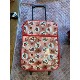 スイマー(SWIMMER)のpppr様専用スイマーのイチゴとさくらんぼのキャリーバッグ(スーツケース/キャリーバッグ)