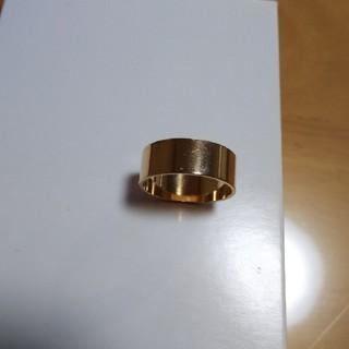 限界値下げ k18 イエローゴールド リング(リング(指輪))