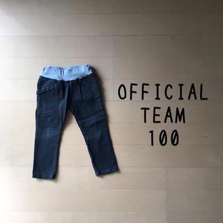 ニードルワークスーン(NEEDLE WORK SOON)のOFFICIAL TEAM 100 パンツ ブラック 黒(パンツ/スパッツ)