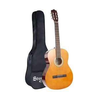 クラシックギター ソフトカバー付 初心者 入門 39インチ(クラシックギター)