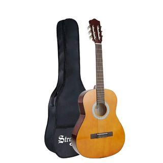 クラシックギター ソフトカバー付 初心者 入門 36インチ(クラシックギター)