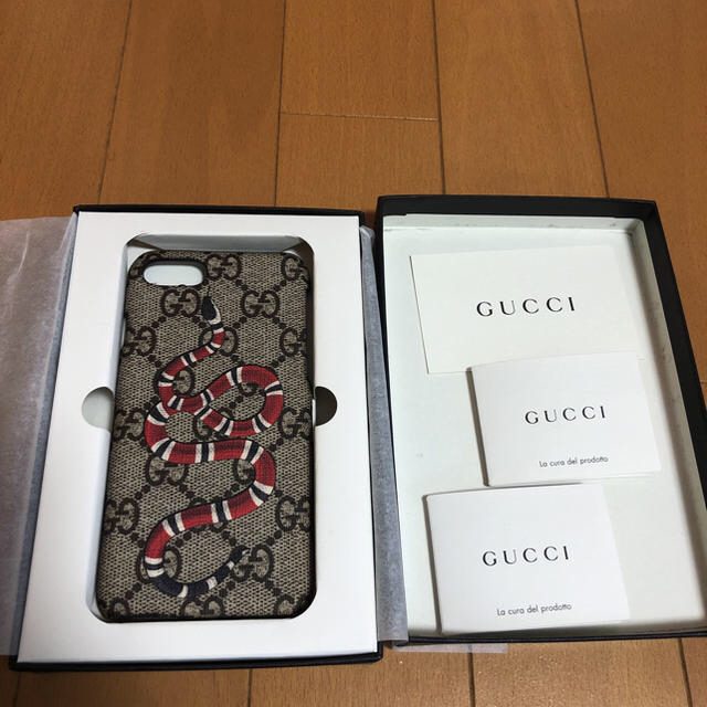 Gucci - GUCCI iPhone7ケースの通販 by syou's shop|グッチならラクマ