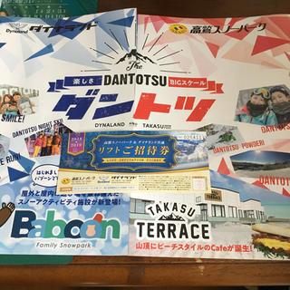 高鷲スノーパーク&ダイナランド共通 リフト券(スキー場)