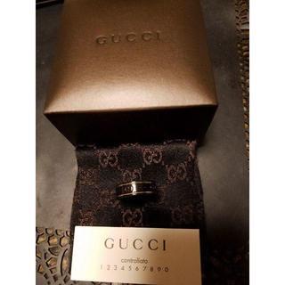 716ca3388148 グッチ(Gucci)の☆GUCCI正規品 シンセティックコランダムのアイコンリング 15号