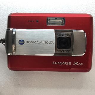 コニカミノルタ(KONICA MINOLTA)のCONIKA MINOLTA DIMAGE X60(コンパクトデジタルカメラ)