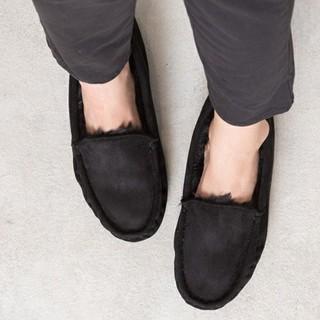 ナチュラルビューティーベーシック(NATURAL BEAUTY BASIC)のナチュラルビューティーベーシックのボアモカシン Sサイズ ブーツ アグ emu(ブーツ)