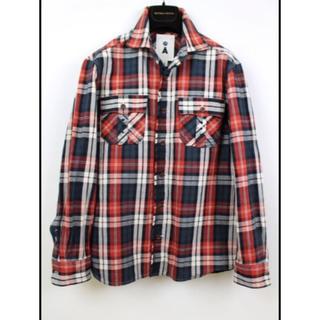 エィス(A)の専用Aエイス メンズ チェックシャツジャケット(シャツ)