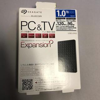 エクスパンション(EXPANSION)の外付けHDD USB3.0対応(PC周辺機器)