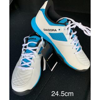 ディアドラ(DIADORA)のテニスシューズ 24.5cm‼︎  ディアドラ オールコート用(シューズ)