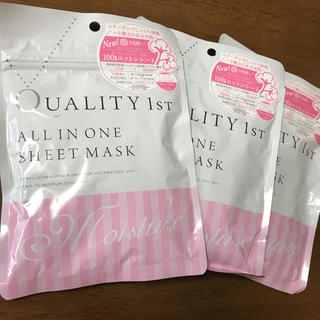 クオリティファースト(QUALITY FIRST)のオールインワンシートマスクモイスト EX(パック / フェイスマスク)