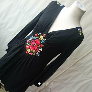 シンディー(SINDEE)のSINDEE 刺繍ワンピース ドレス(ひざ丈ワンピース)