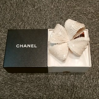 シャネル(CHANEL)のシャネル スパンコール コーム ※髪飾り(ヘアアクセサリー)