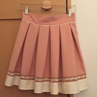スズタン(suzutan)のオレンジピンク ミニスカート(ミニスカート)