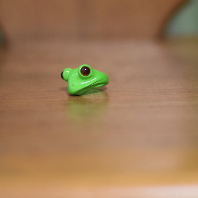 指輪 カエル レディースのアクセサリー(リング(指輪))の商品写真