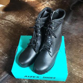 シモン(Simond)の新品未使用AIZEXセイフティレザーブーツ(ブーツ)