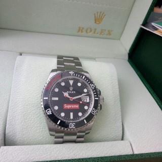 separation shoes cb939 fa9b5 ROLEX ロレックスモデル腕時計 Supreme logo | フリマアプリ ラクマ
