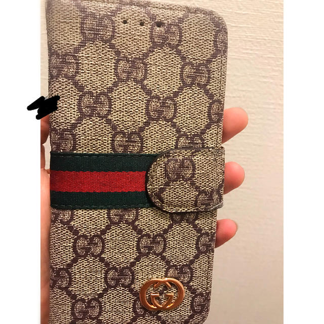 supreme iphone8plus カバー 安い | Gucci - gucci i phone case カバーの通販 by sepia's shop|グッチならラクマ