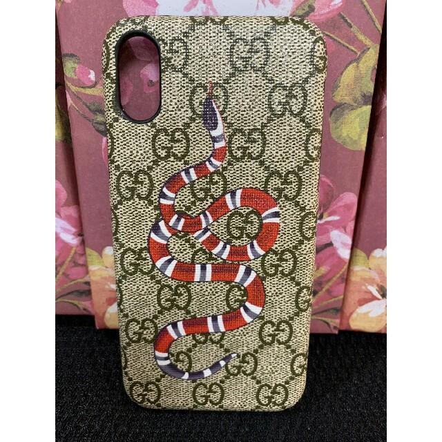 ケース iphone - Gucci - GUCCI グッチ iPhoneXケース 携帯ケースの通販 by Dino D's shop|グッチならラクマ