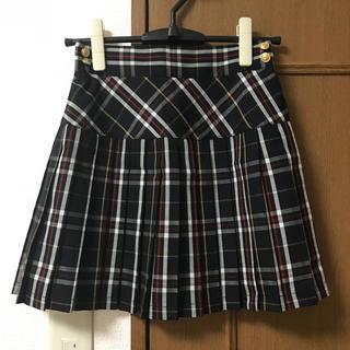 ローリーズファーム(LOWRYS FARM)のローリーズファーム チェックプリーツスカート フーズフーチコ RiLi(ミニスカート)